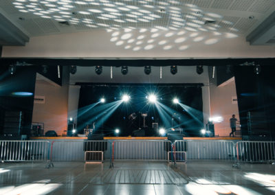 Installation et montage plateau - Stereo Lights Events